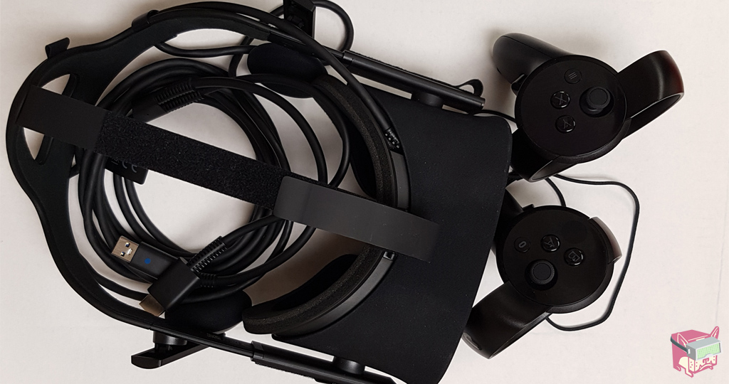 Oculus Rift Headset & Oculus Touch Controllers - Oculus Rift Sale