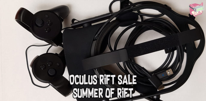 Oculus Rift Sale - Summer of Rift