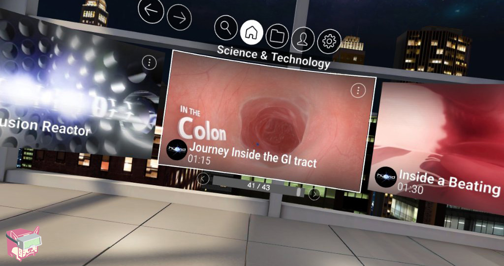 In the Colon VR Review - Samsung Video Library