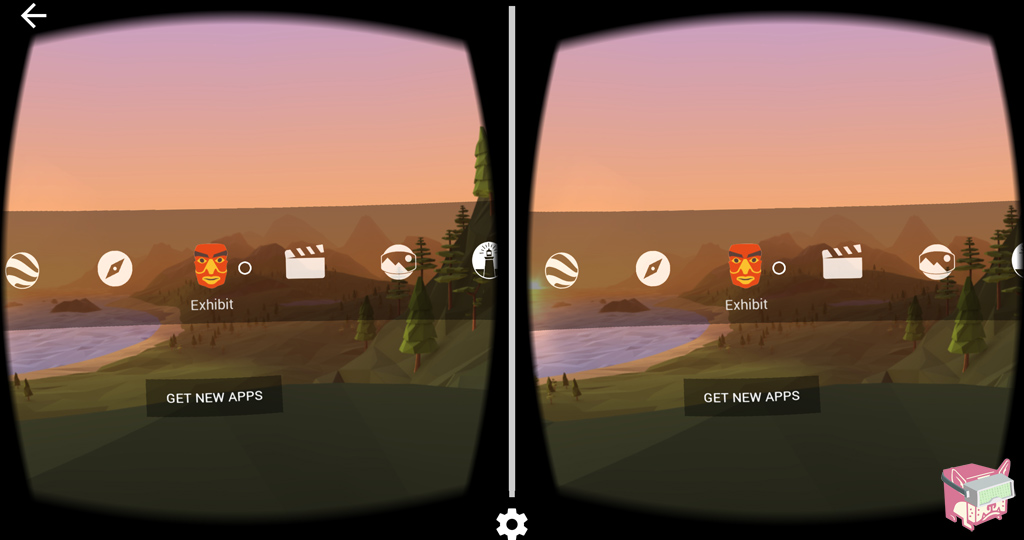 Google Cardboard Demos Menu, FalseDogs Cardboard Review