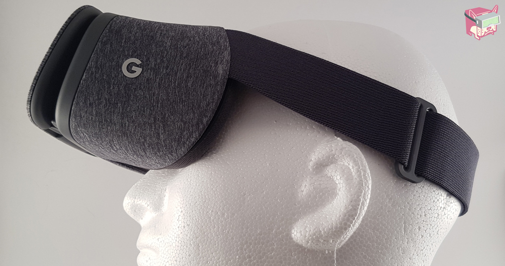 Google Daydream View Review - FalseDogs - Daydream Side View