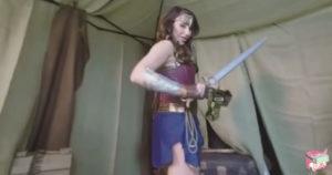 Wonder Woman VR Porn Parody - WOman of Wonder, SFW 01