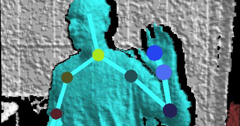 Tracking on Original Kinect Sensor