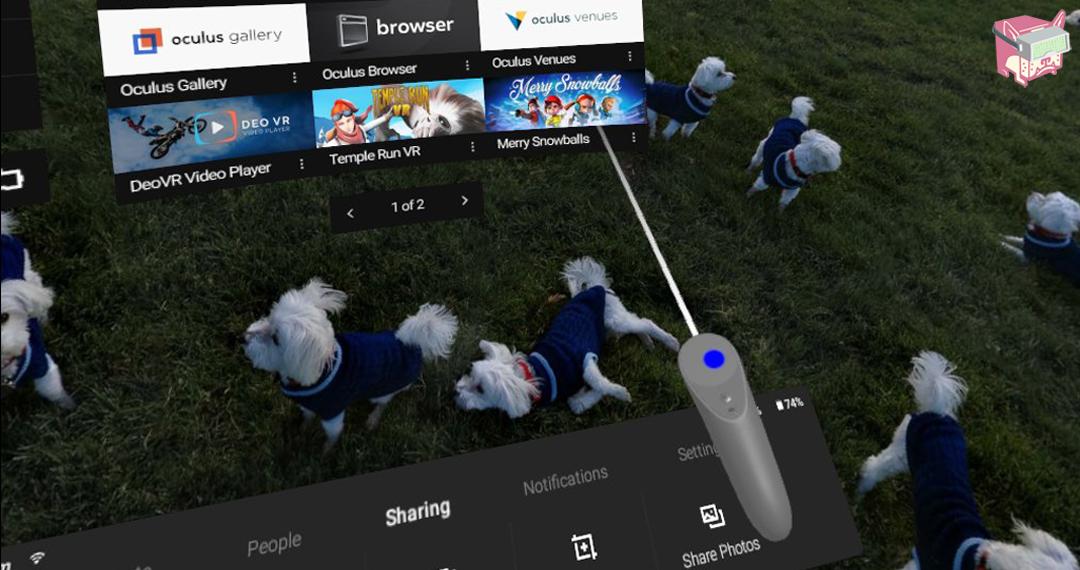 Oculus Go Controller in VR