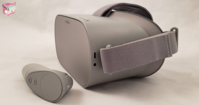 The Oculus Go VR Headset and Controller