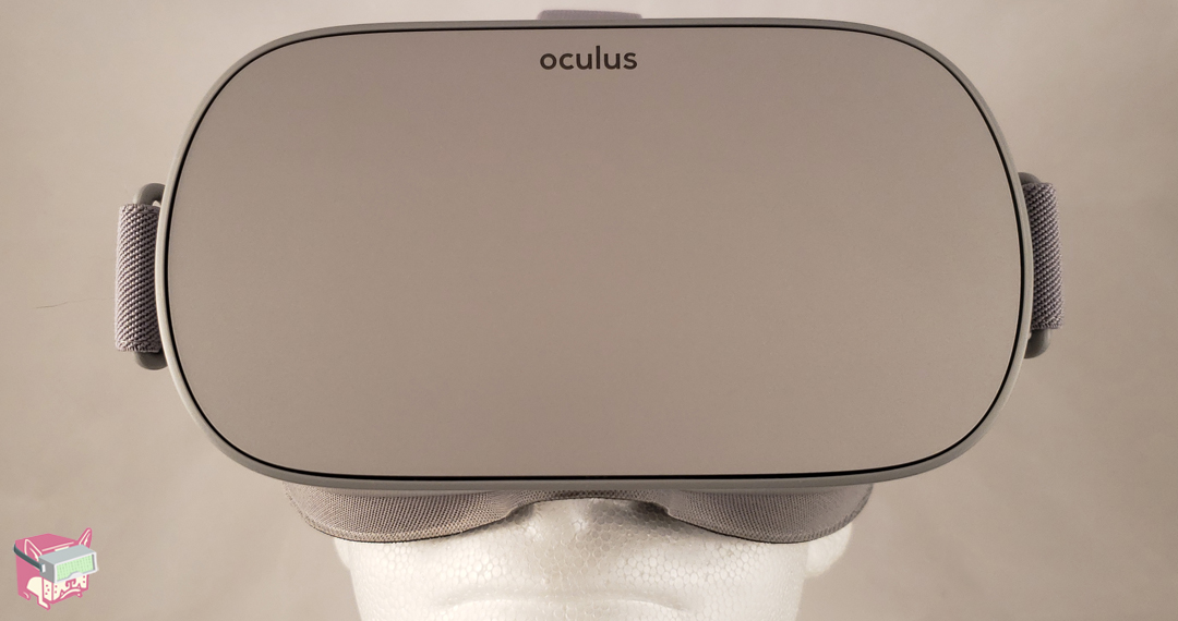 The Oculus Go - Front View