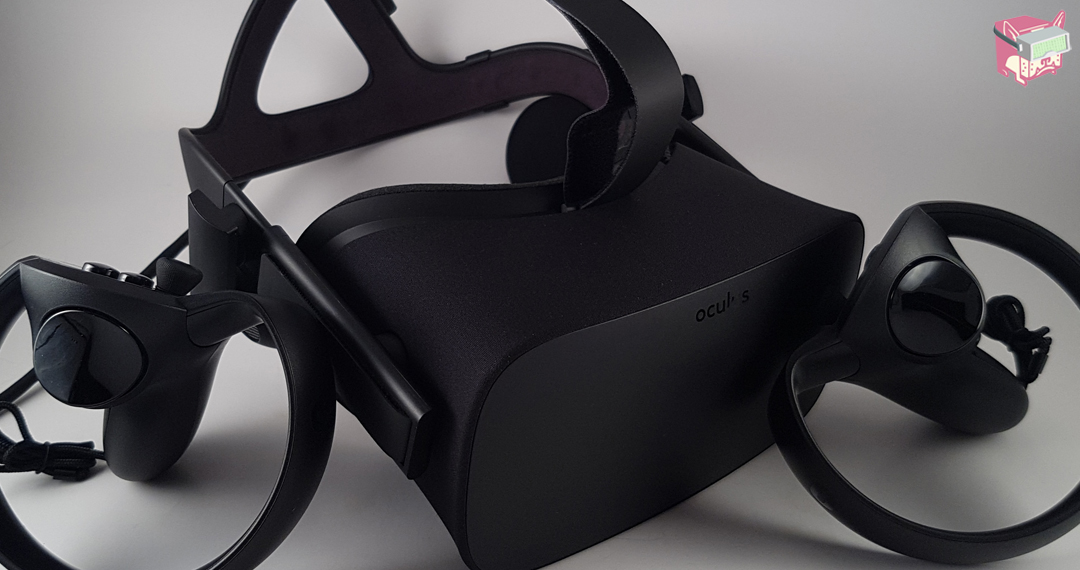 The Rift Headset and Touch Controllers