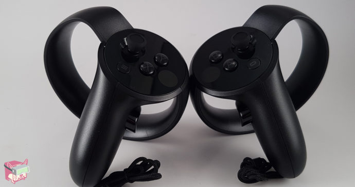 The Oculus Touch Controllers
