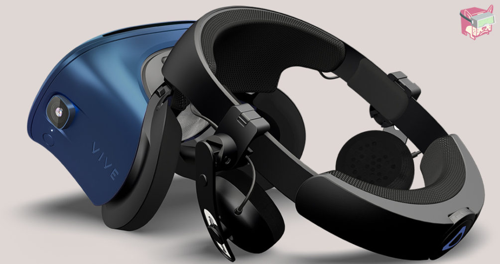The Vive Cosmos Headset