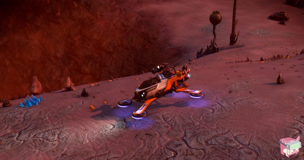 Nomad Exocraft - No Man's Sky