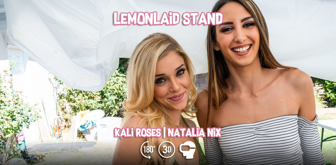 Lemonlaid Stand - Natalia Nix and Kali Roses