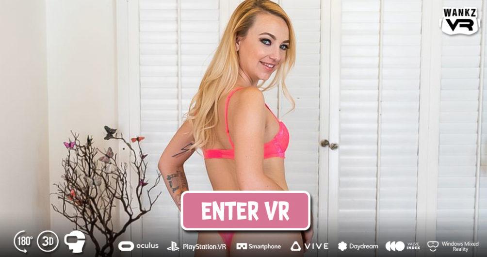 Enter Carmen Get 'Er at WankzVR