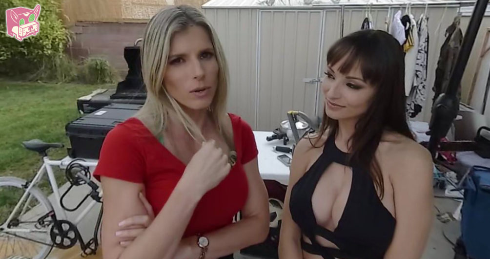 Cory Chase and Lexi Luna