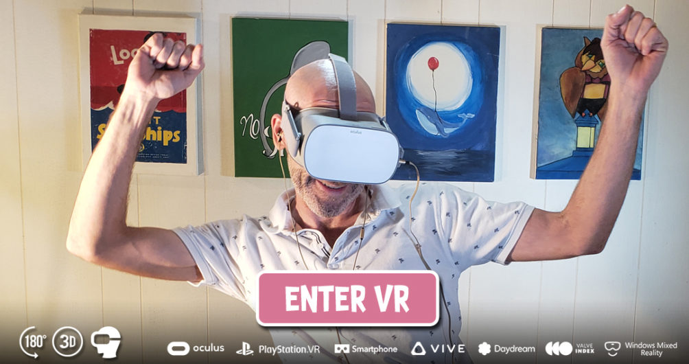 Enter Bargain Banging at MILF VR
