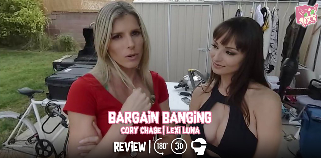 Bargain Banging - Cory Chase and Lexi Luna - Review
