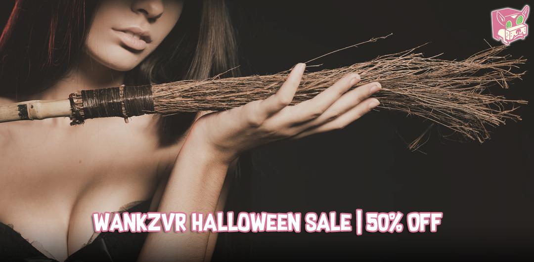 VR Porn Sale - Halloween Deals at WankzVR