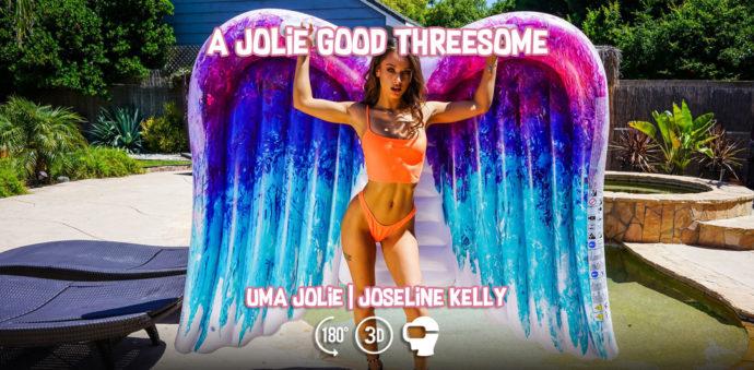 A Jolie Good Threesome - Uma Jolie and Joseline Kelly