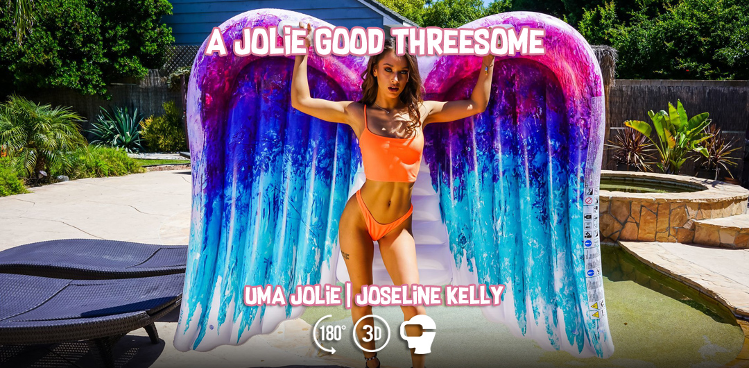 A Jolie Good Threesome - Uma Jolie and Joseline Kelly