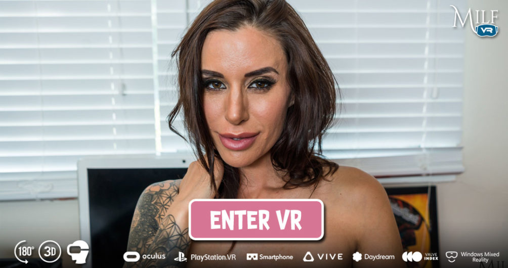 Enter Anything for a Friend at Milf VR