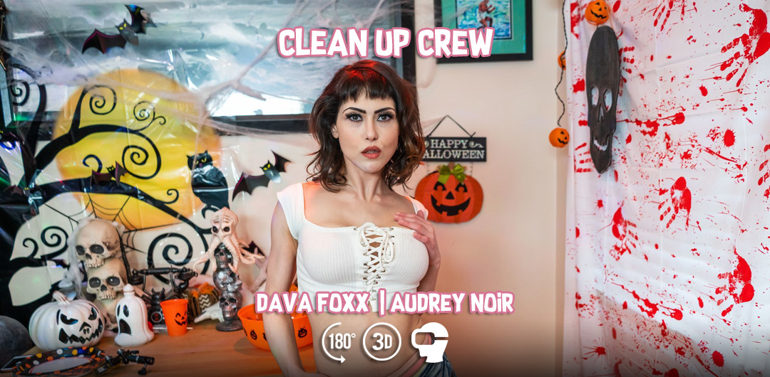 Clean Up Crew - Dava Foxx and Audrey Noir