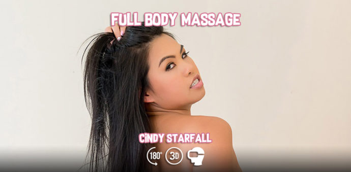 Cindy Starfall - Full Body Massage - VR Bangers